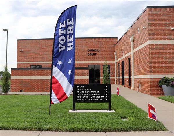 Early voting at Maize City Hall