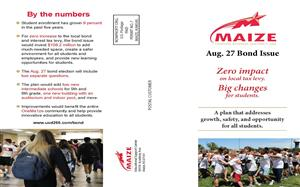 Maize USD 266 informational bond brochure, page 1