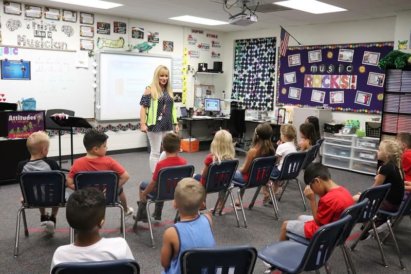 Maize USD 266 students launch their year of learning on the first week of school in 2019.