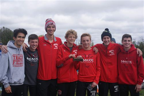 Photo of boys XC team