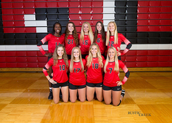 Varsity volleyball team photo
