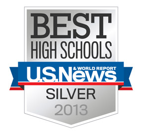 U.S. News Best High School Silver Award 2013