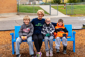 Buddy Bench Dedication