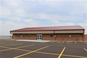 Maize USD 266's new transportation center.