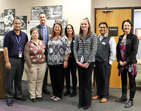 The American Red Cross honored three Maize USD 266 employees during a ceremony Oct. 10.