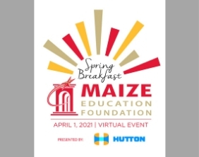 Maize Education Foundation Spring Breakfast event logo