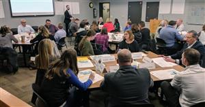 The district hosted a facilities planning meeting on Jan. 28.